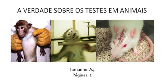 folheto 3 testes em animais