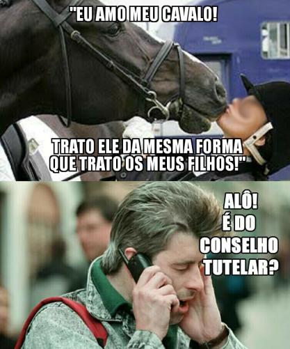 cavalo filhos meme