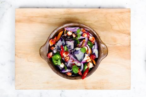 vegan salada foto 2